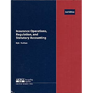 Amazon.com: Insurance Operations, Regulation, and Statutory ...