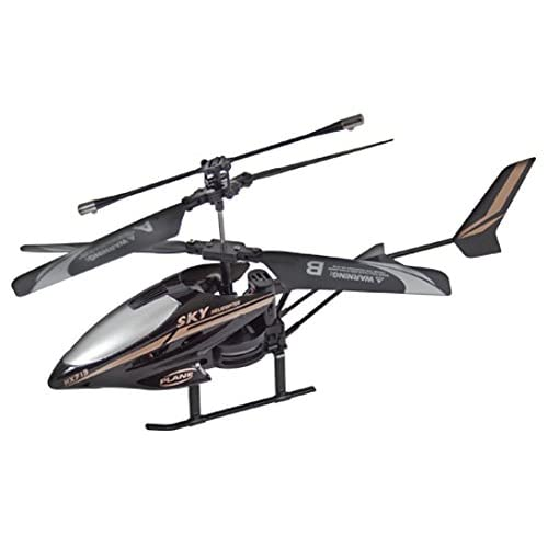Global Gizmos Infrared Remote Control 2-Channel Helicopter (Black)