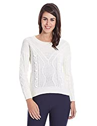 bYSI Womens Wool Sweater (70082_Off-White_12)
