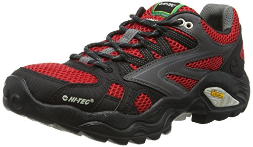 Hi-Tec V-Lite Flash Force Low I, Scarpe da Arrampicata Basse Uomo, Nero (Black (Lingon/Black/Graphite 100)Lingon/Black/Graphite 100), 42 EU