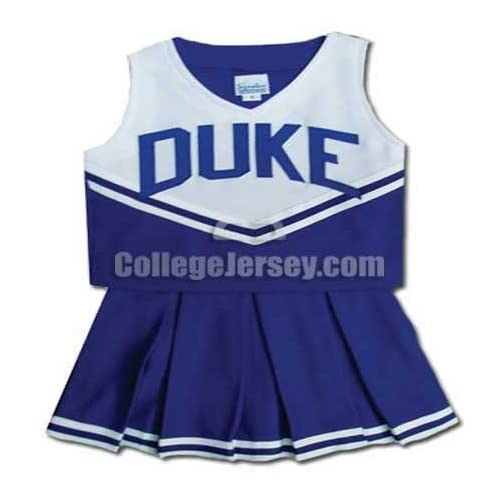 Duke Blue Devils Cheerleader Outfit Memorabilia.: Sports