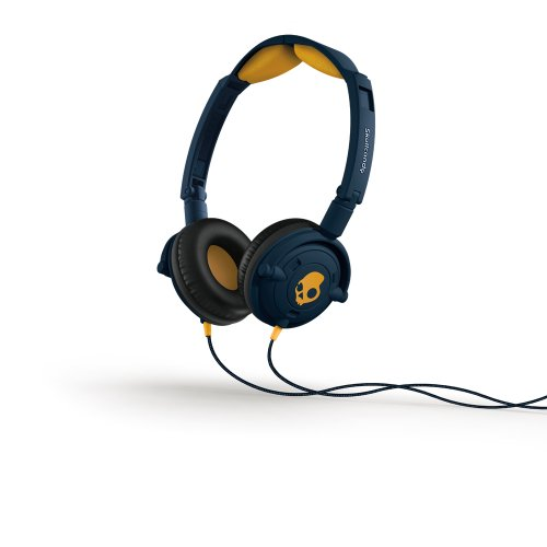 Skullcandy - Lowrider On Ear Headphones In Navy/ Gold
