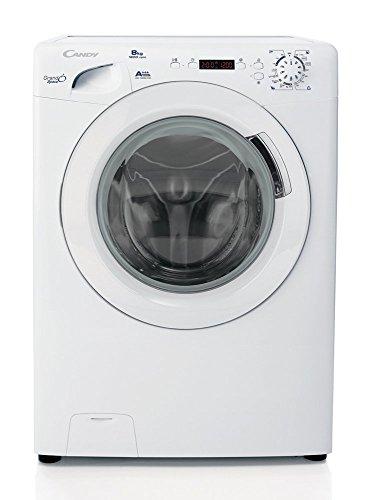 Candy GS 1282D3/1-S Libera installazione Caricamento frontale 8kg 1200RPM A+++ Bianco lavatrice