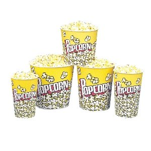 Gold Medal 2132Pc CS 24 Oz Popcorn Cups (24 Oz Popcorn Cups compare prices)
