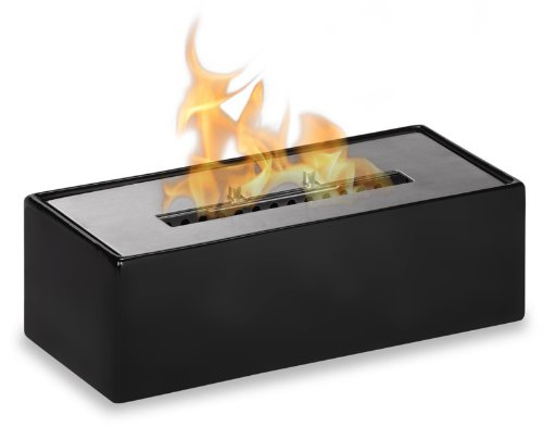 Mia Black - Tabletop Ceramic Ventless Ethanol Fireplace picture B00ESKQHV4.jpg