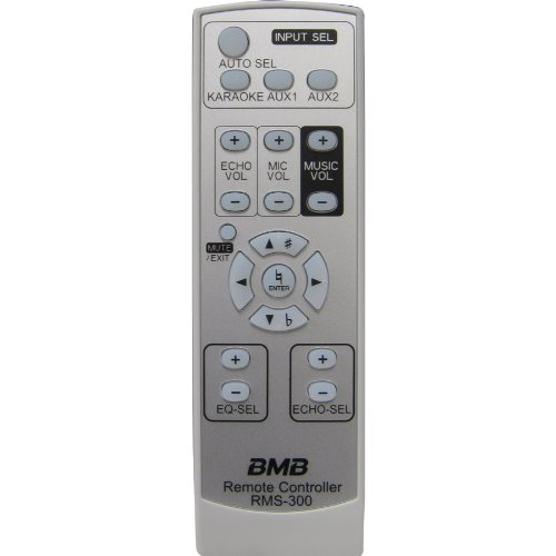 BMB RMS-300 Remote for DAS-150 and DAS-300 Amplifier (Bmb Mixing Amplifier compare prices)