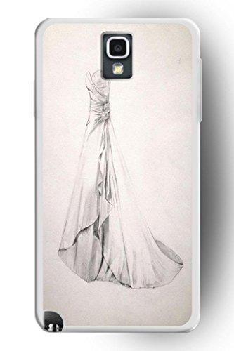 Sprawl Romantic Design Hard Plastic Cover Marriage Samsung Galaxy Note 3 Case -- Bride Dress