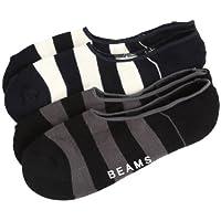 (ビームス) BEAMS  / パイルボーダー 2P ソックス