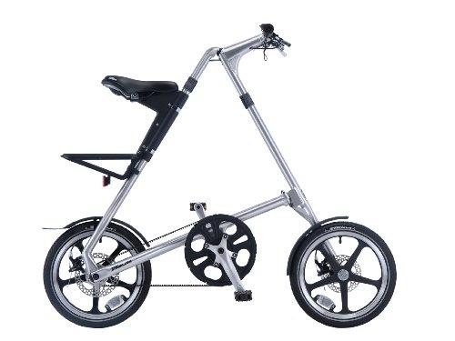 STRIDA(ストライダ) 16インチアロイ製折りたたみ自転車 [ディスクブレーキ/リアキャリア/泥除け/ベル標準装備] STRIDA LT(2014) ブラッシュ