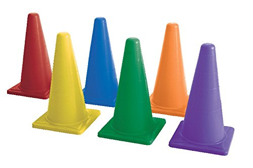 Sportime 1478751 Medium-Weight Cone Set, 20