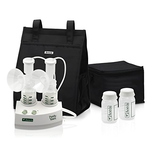 Ameda Purely Yours Double Electric Breast Pump, White - 1