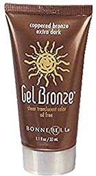 Bonne Bell Bronzing Gel, Coppered Bronze Extra Dark [417] 1.10 oz (Pack of 6)