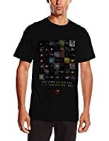 Pink Floyd Herren, T-Shirt, DSOTM 40th Variations