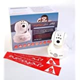 EyeSpy247PTZ Pan, Tilt & Zoom Wireless IP Security Camera With Colour Night Vision Plus Auto Set-up System & Free NVR Softwareby EyeSpy247