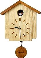 Oak Village (オークビレッジ) 掛け時計 ウッディーカッコー898 カッコークロック 報時付 飾り振子付 4MJ898AK06