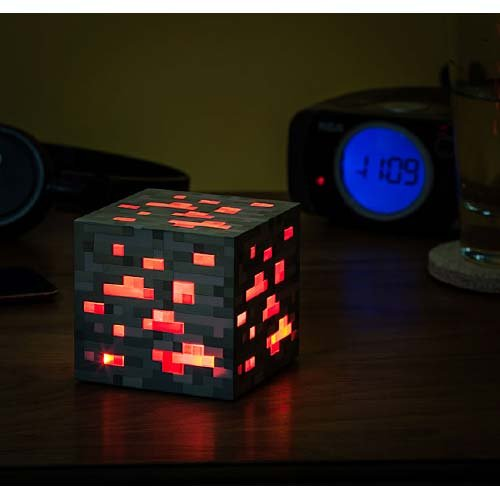 Minecraft Loght Up Redstone Ore / マインクラフト ライトアップ レッドストーン鉱石 【並行輸入】