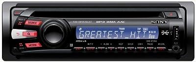 Sony CDX-GT35U CD-MP3-Tuner (AUX In, USB 2.0) schwarz von Sony auf Reifen Onlineshop