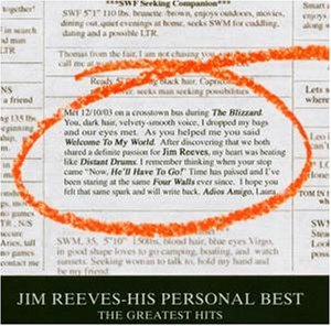 Jim Reeves - His Personal Best-the Greatest Hits - Zortam Music