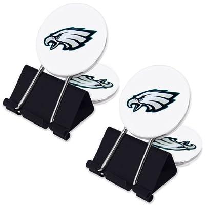 NFL Philadelphia Eagles MyFanClip Multipurpose Clips (Pack of 2)