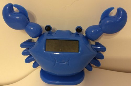 Solar Power Motion Toy - Blue Crab - 1
