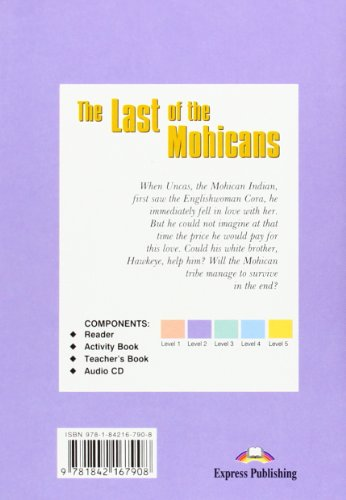 Last of the Mohicans. Con CD Audio
