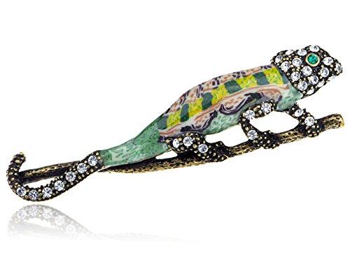 epoxy-enamel-painted-crystal-rhinestone-lizard-animal-fashion-jewelry-pin-brooch