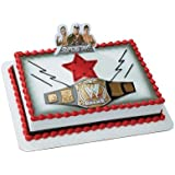 WWE World Wrestling Championship Belt Cake Topper
