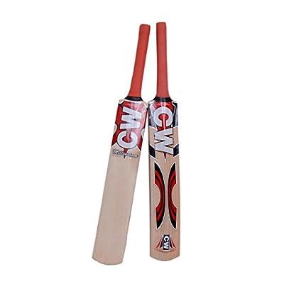 CW Combo of Cricket Bat Kashmir Willow Millennium with Training/ Hanging Ball