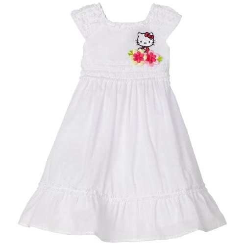 Hello Kitty Girls 2 6x Swiss Dot Dress