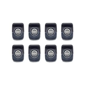 OXO Good Grips Stacking Magnetic Mini Clips, 8-Count, Graphite