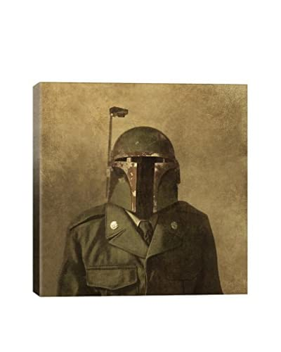 Terry Fan General Fettson Square Gallery-Wrapped Canvas Print