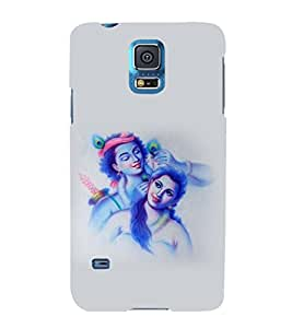 printtech Radha Krishna Back Case Cover for Samsung Galaxy S5 G900i::Samsung Galaxy S5 i9600::Samsung Galaxy S5 G900F