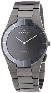 Skagen Men's 585XLTMXM Swiss Titanium Grey Watch