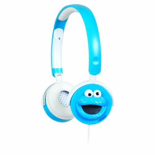 Isound Sesame Street 3D Headphones (Cookie Monster)