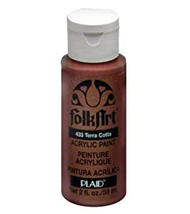 Folk Art 433 2-Ounce Acrylic Paint, Terra Cotta