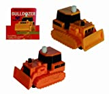 Childs Classic Wind Up Toy Bulldozer with Anti Fall Function - Kids Perfect Ideal Christmas Stocking Filler Gift Present