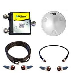 Wilson Electronics Ag Pro/tri-band/quint and All 50 Ohm Boosters Add on Kit with Dome Antenna
