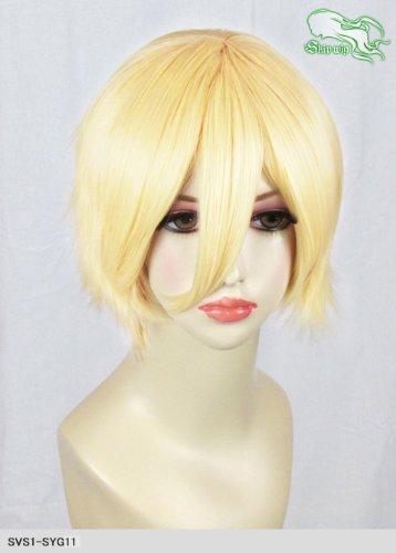 スキップウィッグ 魅せる シャープ 小顔に特化したコスプレアレンジウィッグ マニッシュショート レモンキャンディ
