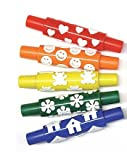 WONDERFOAM PATTERN ROLLERS 10/SET