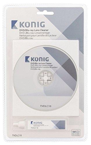 konig-tvdlc10-linsenreiniger-mit-20-ml-reinigungsflussigkeit-fur-dvd-blu-ray-player