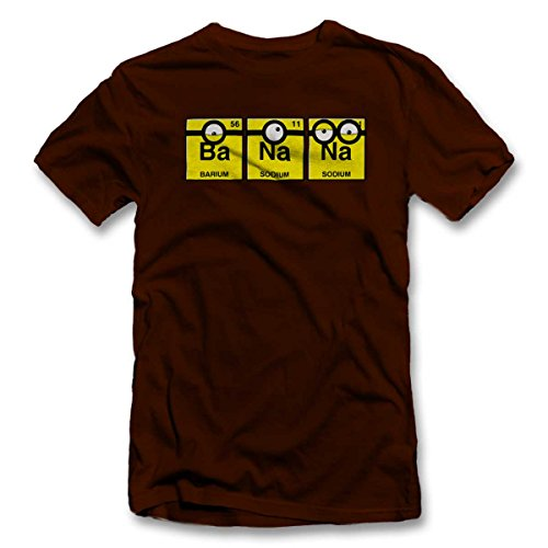 Banana-T-Shirt-braun-brown-2XL