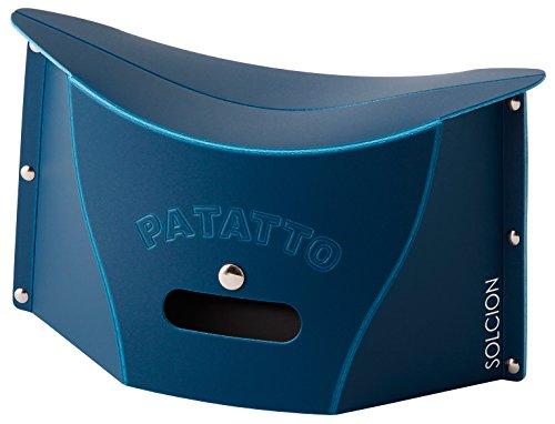 SOLCION 折りたたみ椅子 パタット ミニ PATATTO mini ネイビー PM003
