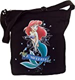 Disney the Little Mermaid Canvas Tote Bag [Office Product]