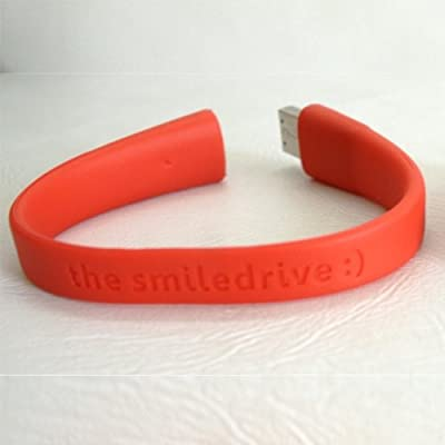 16GB FANCY DESIGNER WRISTBAND USB PENDRIVE (RED)