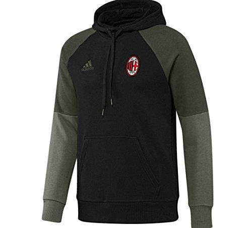 Adidas Ac Milan Felpa Cappuccio Uomo Slim Fit M