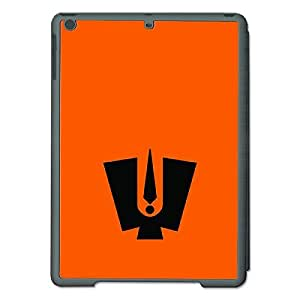Skin4gadgets Lord Tirupati Balaji - Line Sketch on Engligh Pastel Color-Orange Tablet Designer SMART CASE for IPAD AIR1
