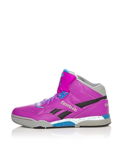 Reebok Sneaker Alta Reverse Jam Mid [Violetto/Blu]