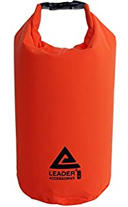Waterproof and Compression Lightweight Dry Sack for Outdoor Products (Orange, 8L)