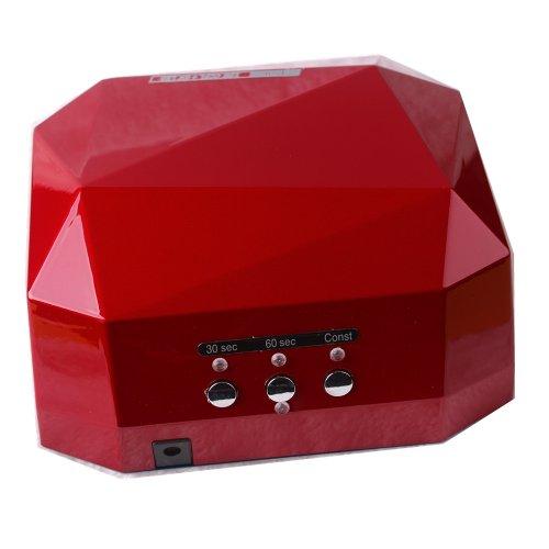 Btartbox 18W Nail Uv Lamp Acrylic Gel Shellac Led Light Quicker Drying Fan Hot Red Dryer
