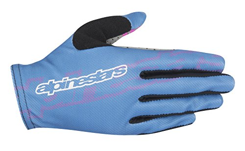 Alpinestars Men's Stella F-Lite Gloves, Nepal Blue/Raspberry Rose, Large